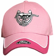 Ford Mustang Hat - Two Tone 45th Anniversary Cap