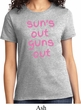 Pink Suns Out Guns Out Ladies Shirt
