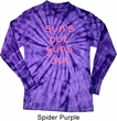 Pink Suns Out Guns Out Long Sleeve Tie Dye Shirt