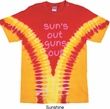 Pink Suns Out Guns Out Premium Tie Dye Shirt