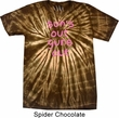 Pink Suns Out Guns Out Spider Tie Dye Shirt