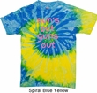 Pink Suns Out Guns Out Tie Dye Shirt