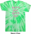 Pink Suns Out Guns Out Twist Tie Dye Shirt