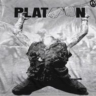 Platoon Grayscale Poster Sublimation Shirts