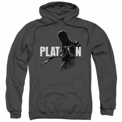 Platoon Hoodie Shadow Of War Charcoal Sweatshirt Hoody
