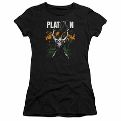 Platoon Juniors Shirt Graphic Black T-Shirt