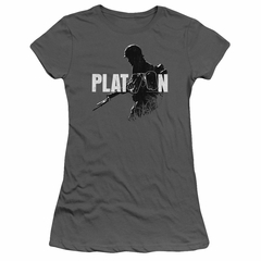 Platoon Juniors Shirt Shadow Of War Charcoal T-Shirt