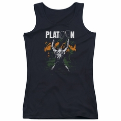 Platoon Juniors Tank Top Graphic Black Tanktop
