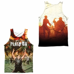 Platoon Key Art Sublimation Tanktop Front/Back Print