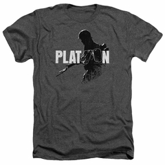 Platoon Shirt Shadow Of War Heather Charcoal T-Shirt