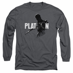 Platoon Sweatshirt Shadow Of War Adult Charcoal Sweat Shirt