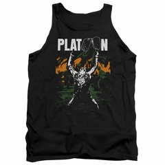 Platoon Tank Top Graphic Black Tanktop