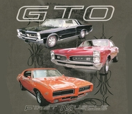 Pontiac GTO T-shirt - First Muscle Adult Tee