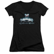 Pontiac Juniors V Neck Shirt Grand Prix Black T-Shirt