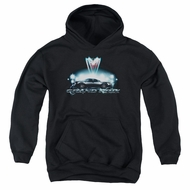 Pontiac Kids Hoodie Grand Prix Black Youth Hoody