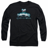 Pontiac Long Sleeve Shirt Grand Prix Black Tee T-Shirt