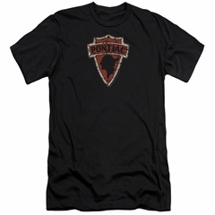 Pontiac Slim Fit Shirt Arrow Head Black T-Shirt