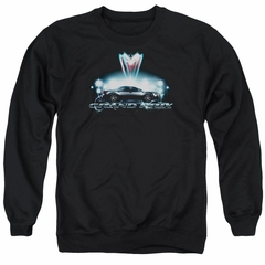 Pontiac Sweatshirt Grand Prix Adult Black Sweat Shirt