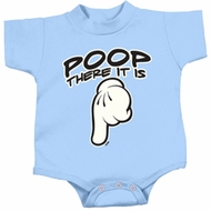 Poop There It Is Kids Shirts
