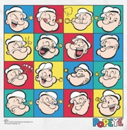 Popeye Color Block Shirts