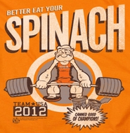 Popeye Eat Your Spinach Shirts