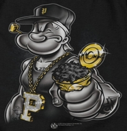 Popeye Get More Spinach Shirts