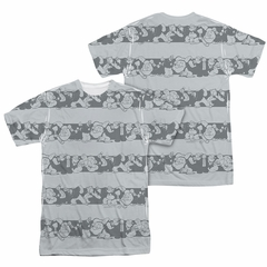 Popeye Group Stripes Sublimation Shirt Front/Back Print