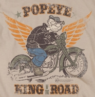 Popeye King Of The Road Shirts