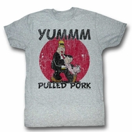 Popeye Shirt Pulled Pork Athletic Heather T-Shirt
