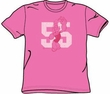 Popeye t-shirt 55 Hot Pink Funny Cartoon Adult Tee