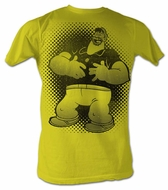 Popeye T shirt Brutus Thats Funny Adult Yellow Tee Shirt