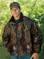Port Authority Camoflage Jacket Mossy Oak Challenger Outerwear