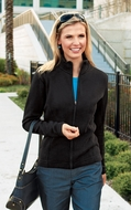Port Authority Ladies Jacket Flatback Rib Full Zip Outerwear