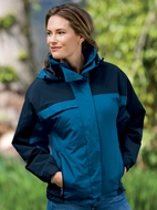 Port Authority Ladies Nootka Jacket Waterproof Fleece Outerwear