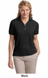 Port Authority Ladies Polo Shirt 100% Pima Cotton Y Placket