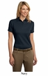 Port Authority Ladies Polo Shirt Pima Select With Pima Cool Technology