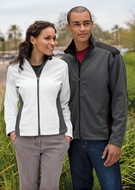 Port Authority Ladies Waterproof Jacket Two Tone Soft Shell Outerwear