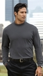 Port Authority Mock Turtleneck Shirt Interlock Knit Interlock Tee