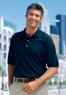 Port Authority Polo Sport Shirt 100% Pima Cotton Lightweight