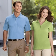 Port Authority Polo Sport Shirt Silk Touch Interlock