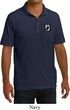 Pow Mia Patch Pocket Print Mens Pique Polo