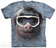 Powder Pig Shirt Tie Dye Adult T-Shirt Tee