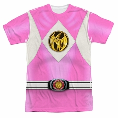 Power Ranger Shirt Pink Ranger Costume Sublimation Shirt