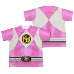 Power Ranger Shirt Pink Ranger Costume Sublimation Youth Shirt