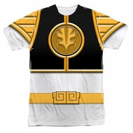 Power Ranger Shirt White Ranger Costume Sublimation Shirt