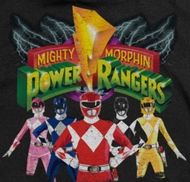 Power Rangers Characters Shirts