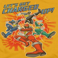 Power Rangers Charged Up Shirts