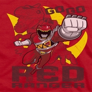 Power Rangers Go Red Shirts