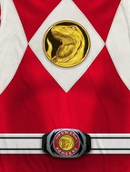 Power Rangers Red Ranger Costume Sublimation Shirts