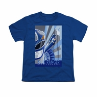 Power Rangers Shirt Kids Blue Ranger Blue T-Shirt